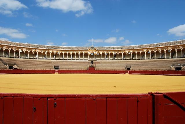 The Plaza de Toros de la Real Maestranza de Caballería